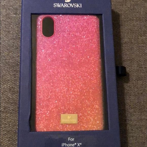 a6a537ba1 Swarovski Accessories | Crystal Pink Ombr Iphone X Case | Poshmark